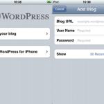 Wordpress per iPhone, ecco la recensione