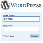 Cambiare il nome utente Admin in WordPress