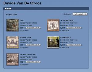 Album di Davide Van De Sfroos su iTunes