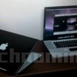 Foto del presunto nuovo MacBook Pro