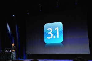 iPhone OS 3.1 Apple Event