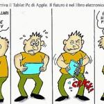 Vignetta sull'iPad